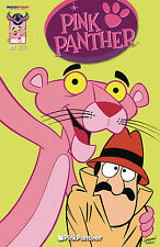 PINK PANTHER #1 SET OF FIVE COVERS MAIN, BLANK, CLASSIC, PINK PALS & RETRO