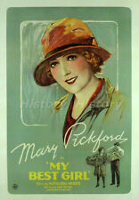 """Mary Pickford Vintage Postcard from the Movie """"My Best Girl"""""""
