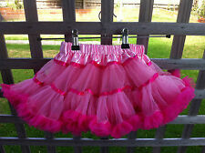 Tutu Skirt Baby Girl Toddler Kid Dance Party Pettiskirt Photo Prop Fluffy  Xmas