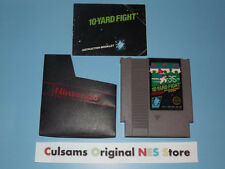NINTENDO NES 10 YARD FIGHT GAME, PROTECTIVE SLEEVE,BOOKLET & A 30 DAY GUARANTEE