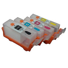 CANON IX4000 IX5000 IP3300 IP3500 MP510 MP520 MX700 refillable ink cartridge