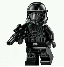 Imperial Death Trooper Mini Figures Star Wars With Blaster Building Toys Gifts