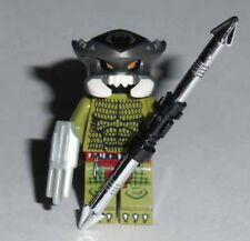 MOVIE Lego 80's Predator w/acc's NEW custom (Genuine Lego Parts) Olive Green #8