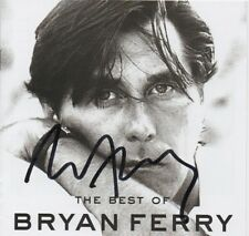 BRIAN FERRY - personally signed CD cover
