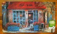 NWT PARIS CAFE NIKKI COFFEE KITCHEN FLOOR MAT MEMORY FOAM ANTI FATIGUE RUG 18x30