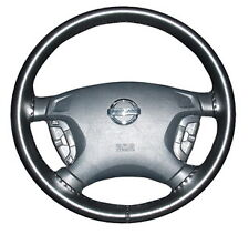 BLACK 2005 Mazda MPV Genuine Leather Steering Wheel Cover Wheelskins 14 1/2 X 4