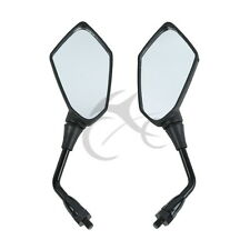 Black Rear View Mirrors Left Right For kawasaki Versys KLE 650 2007-2010 2008 09