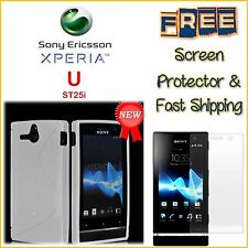 Sony Xperia U St25a St25i TPU Case Cover FREE Screen Protector & Fast Shipping