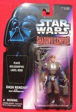 Figurine Star Wars SHADOWS OF THE EMPIRE. Dash Rendar; Kenner 2001. Neuf
