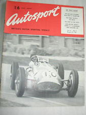 Autosport 31/8/51 Vol 3 No 9 RAC TT Entries, 750 Club 6 Hours