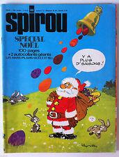 B)SPIROU N°1808  Spécial Noël; sur 100 pages avec 8 récits complets