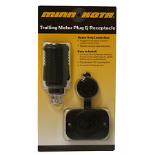 Minn Kota 12 Volt Plug And Receptacle MKR-18 1865102