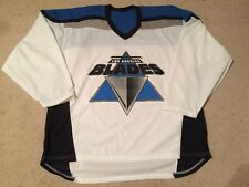 NEW RARE VINTAGE LA BLADES CCM INTERNATIONAL ROLLER HOCKEY WHITE JERSEY MENS XL