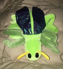 "Caltoy GRASSHOPPER INSECT BUG Glove Hand Puppet Plush Stuffed Animal 9"" long"