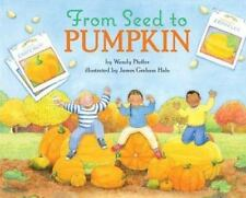 From Seed to Pumpkin (Let's-Read-and-Find-Out Science 1)-ExLibrary