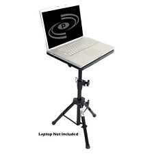 New Pyle PLPTS4 Pro DJ Laptop TriPod Adjustable Stand For Notebook Computer