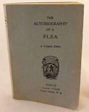 The Autobiography of a Flea 1888 Erotica France Stanislas de Rhodes Rare