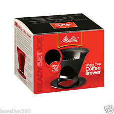 Melitta Ready Set Joe Single Cup Coffee Brewer 64007