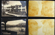 CIRCA 1930 MEXICO HOTEL RUIZ GALINDO FORTIN TWO REAL PHOTO CARDS ARCHITECTURE