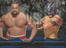 Rusev VS Kalisto Rivalries WWE Then Now Forever 2016 Trading Card #17