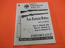 Small Folded Owner's Reference Manual for British Lee Enfield bolt action Rifles