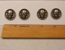 "Pirate Skull & Bones sewing buttons 7/8"" metal See Full Listing Info"