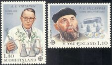 Finland 1980 Europa/Nobel Prize/Books/Literature/Science/Plants 2v set (b735c)