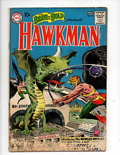 Brave and the Bold #34 (1961 DC) 1st App Hawkman, Gardner Fox, Joe Kubert, G/VG-