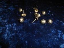 100 Ziernägel/Polsternägel Oxford gedreht , 12 mm im Durchmesser