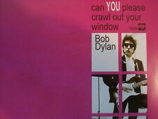 """BOB DYLAN 45 RPM 7"""" - Can You Please Crawl Out Your Window RSD 2011"""