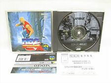 Real Bout Fatal Fury 2 RB2 MINT Condition NEO GEO CD Neogeo SNK nc