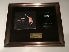 SIGNED/AUTOGRAPHED ROBBIE WILLIAMS - UNDER THE RADAR VOL 1 FRAMED CD PRESENTATIO