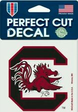 Universuty of South Carolina Logo 4x4 Perfect Cut Car Decal See Description
