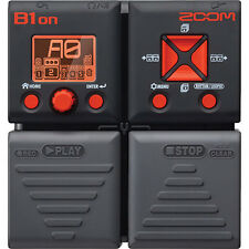 Zoom B1on Bass Multi-Effects Pedal w/ Built-In Looping Tuner & Trainer
