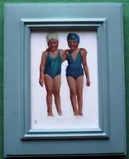 Forgotten Childhood Original Oil Painting by Nigel Mason : Bathing Beauties