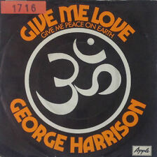 "7"" Single - George Harrison - Give Me Love (Give Me Peace On Earth) - S37"