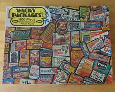 1973 Wacky Packages Picture Jigsaw Puzzle Topps Chewing Gum Jaymar Vintage