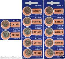 12 SONY CR1620 CR 1620 3V Coin Lithium Batteries