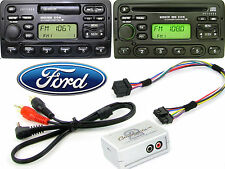 Ford Focus KA Galaxy aux adapter lead 3.5mm jack in car radio iPod MP3 CTVFOX001
