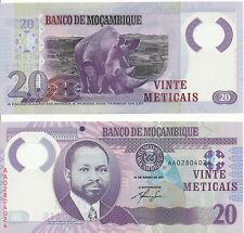Mosambik / MOZAMBIQUE - 20 Meticais 2011 UNC - Pick 149