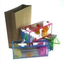 Super Delux Paper Bag Appearing Flower Box-Small Size Magic Props Kids Tricks
