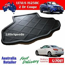 Lexus IS250c IS350c 2 Door Coupe Boot Liner Tray Mat Trunk Protector