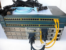 Cisco CCIE Core Starter Lab 3x 2611XM 32/128 12.4 2950-24 CCIEStart1