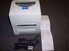 #S6 Citizen CLP-631 Label Printer W/USB Cable & Power Cord & Test Print