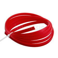 5 Feet Red ABS Acoustic Guitar Binding Purfling Strip 1650*6*1.5mm Body Project