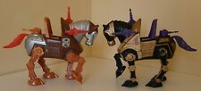 HE-MAN Masters of the Universe NIGHT STALKER STRIDOR Horses Lot 1983 MOTU