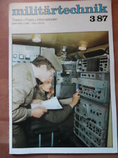 Militaire technique 3/1987 opérateur radio technologies clés spw 60pb robotron a 7100