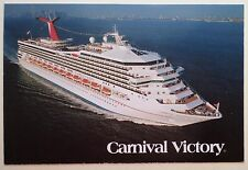 mv Carnival Victory . Cruise Line . Boat Ship Ocean Liner Early Photo PC W820