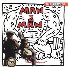 The Best of Man 2 Man by Man 2 Man (CD, Jan-1996, Hot Productions)