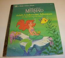 Walt Disney The Little Mermaid Ariel's Underwater Adventure Little Golden Book